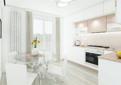 Kitchen Interior White